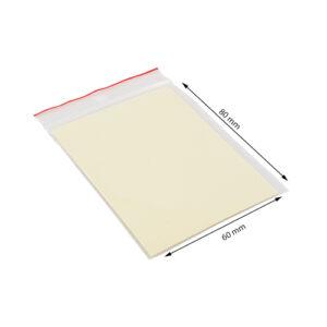Transparante zakjes voor het verzenden van producten