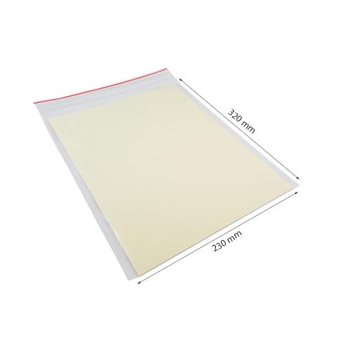 Gripzakje transparant 230 x 320 mm bij Verpakking Voordeel